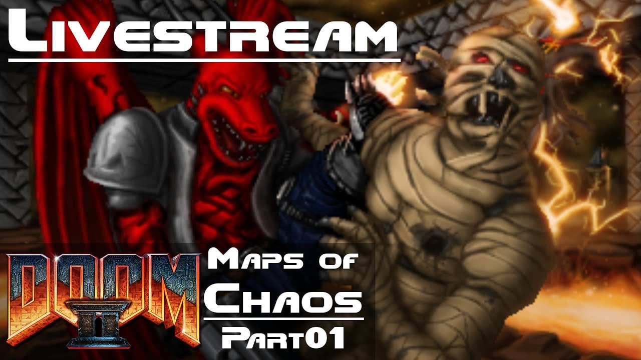 [Guncaster] DOOM 2 Maps of Chaos – Part 01