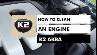 "Очиститель двигателя K-2 ""AKRA"" 770ml от компании Avto-Max - видео"