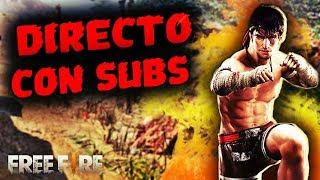 Free Fire Directo Jugando Con Subs Hoy Nueva Actualizacion