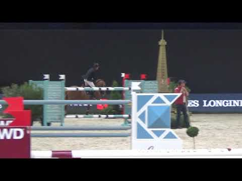 Emerald and Harrie finishing 2nd place  in the Final II Longines World Cup Finals Paris