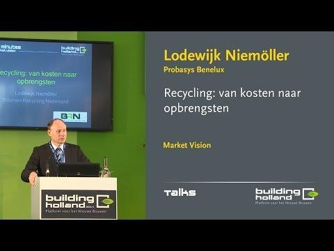 Recycling: van kosten naar opbrengsten