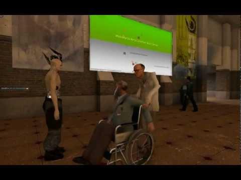 Garry's Mod Pac3 - WheelChair - смотреть онлайн на Hah Life