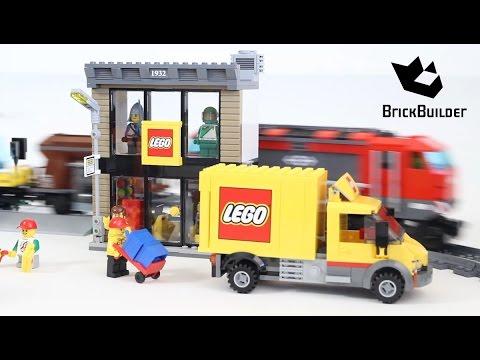 Vidéo LEGO City 60097 : Le centre ville