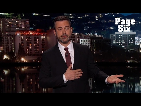Jimmy Kimmel cries talking about his newborn son's near-death experience