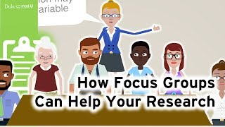 How Focus Groups Can Help Your Research: Qualitative Research Methods
