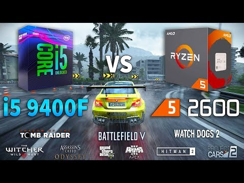 Ryzen 5 2600x vs ryzen 5 2600 vs i5 8400 :: Hardware and