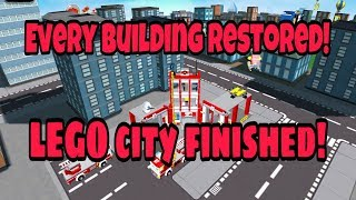 LEGO CITY GAME iOS / Android Gameplay Walkthrough | Every City Building Restored and Unlocked