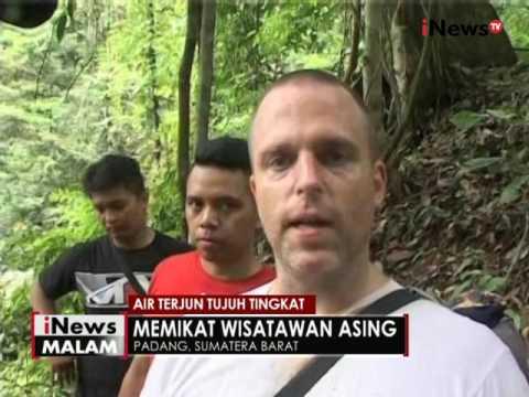 Indahnya air terjun tujuh tingkat di Padang, Sumbar - iNews Malam 01/09