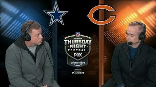 Troy Aikman ETHERS Dak Prescott & Dallas Cowboys LIVE During Chicago Bears Game!