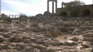 preview picture of video 'Acropolis Lindos Rhodes Greece October 2012'