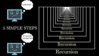 5 Simple Steps for Solving Any Recursive Problem