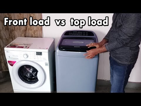 Front load vs top load washing machine | top load vs front load washer | best washing machine