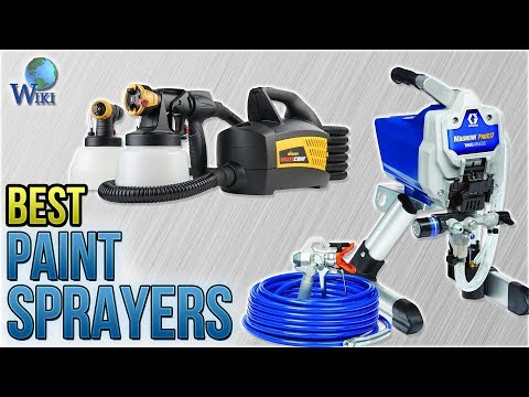 10 Best Paint Sprayers 2018