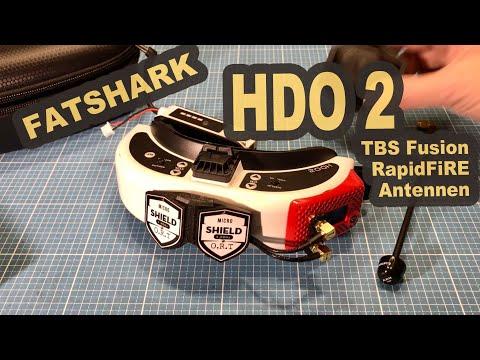 FatShark Dominator HDO 2 TBS Fusion RapidFiRE Modules Antennas