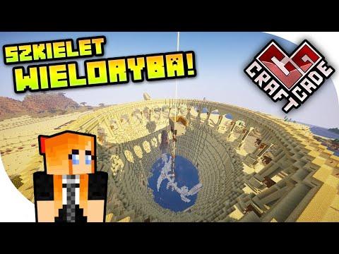 SZKIELET WIELORYBA W MOJEJ BAZIE! | CraftCade Minecraft Aquatic