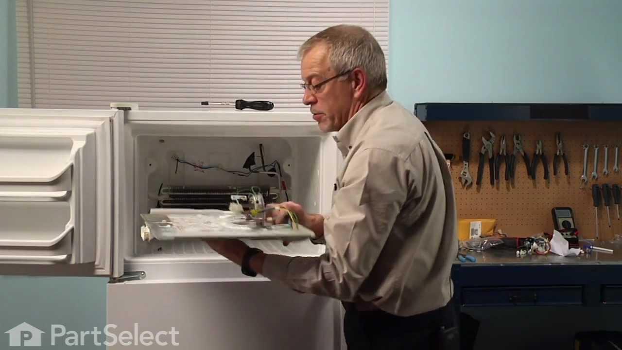 Replacing your Frigidaire Refrigerator Evaporator Fan Motor Kit - 120V 60Hz