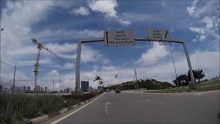 Mais um passeio de mota por Luanda