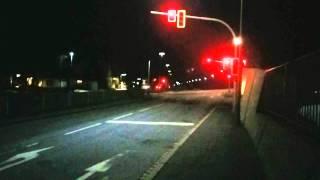 preview picture of video 'Bahnübergang Rehau, Bahnhofstraße'
