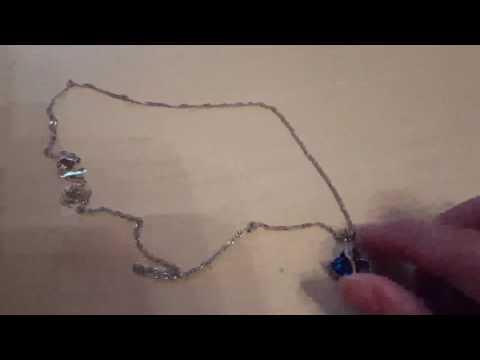 Herzkette 18K Weißgold Überzogen Kristall Damen Halskette, Eine wunderschöne und süsse Kette mit ein