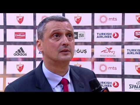 Post-game interview: Coach Radonjic, Crvena Zvezda mts Belgrade