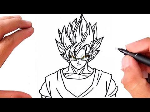 como desenhar o goku ssj 3 dragon ball z universo artista amino