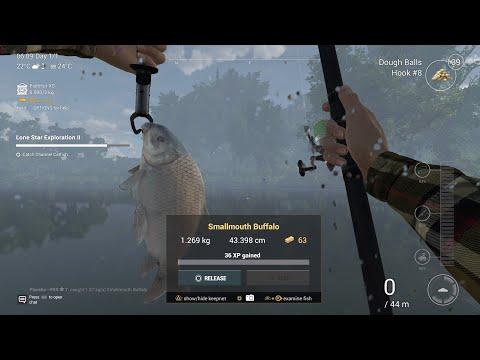 Как поймать малоротого буффало в Fishing Planet