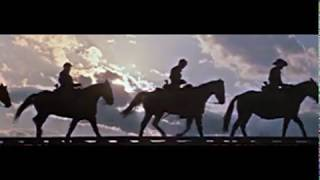 Western+Music: I Left My Love/US Cavalry -The Horse Soldiers/John Ford- Les Cavaliers (Lyrics)