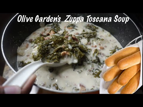 Olive Garden's Zuppa Toscana Soup Recipe