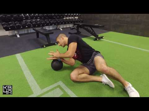 Kettlebell Turkish Get-Up (Squat style)