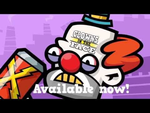 Video of Clowns in the Face