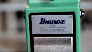 Ibanez TS9 Tube Screamer Video