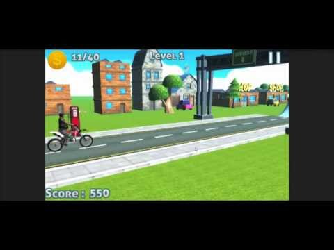 Extreme Bike Racer Unity 3D Mobile Game Source Code