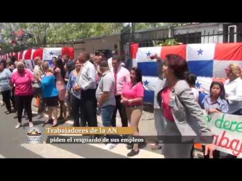 Trabajadores de la Asamblea Nacional piden el resguardo de sus empleos