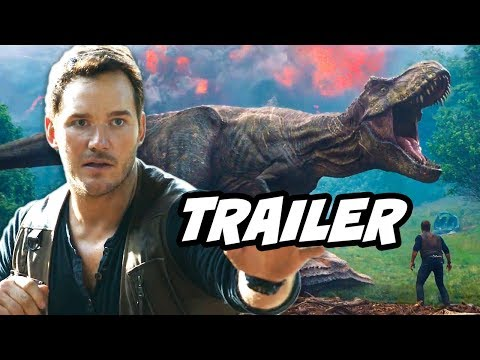 Jurassic World 2 Fallen Kingdom Official Trailer Breakdown
