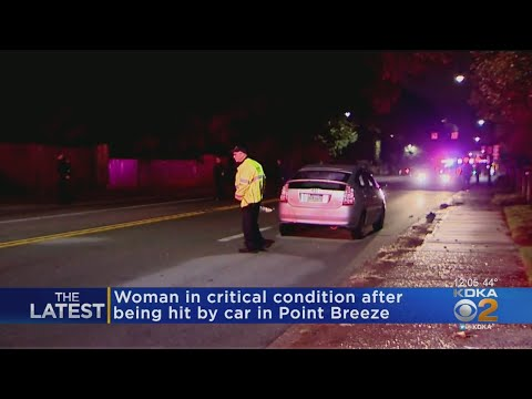 Woman Stuck By Car In Point Breeze Is In Critical Condition
