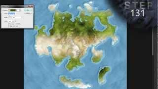 Atlas Map Style Tutorial - 6 of 7 (Photoshop)