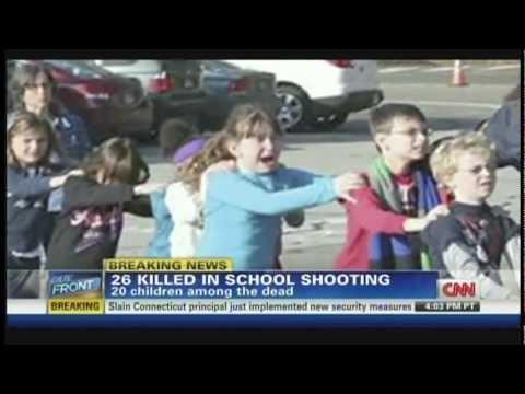 Sandy Hook Elementary School Shooting Newtown Connecticut (December 14, 2012, 7PM ET)