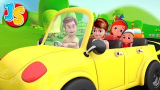 Driving Down The Road | Nursery Rhymes For Kids & Children | Baby Songs