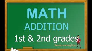 Basic Math For Kids / Math For Kindergarten 1st And 2nd Grades / Math Addition