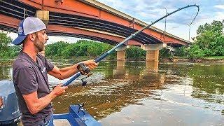 Fishing Bridges for FLATHEAD CATFISH