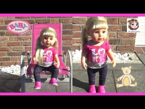 BABY BORN SISTER ♥ Hier kommt die große Schwester ♥ Interaktive Puppe Unboxing | Zapf Creation