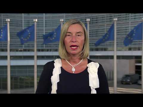 Remarks of EU HR Mogherini at the opening of CTBTO's SnT2019