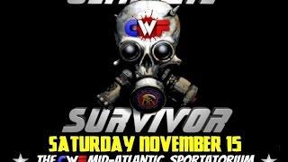 "CWF Mid-Atlantic Wrestling Ultimate Survivor XII ""Cage Warfare"" is THIS Sat 11/15/14!!"