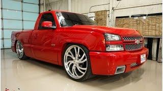 Silverado SS Clone dropped on 26x12 Intros! Dallas Texas Truck!