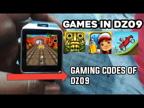 HOW TO PLAY GAMES IN REAL/FAKE DZ09 SMARTWATCH||DZ09 WATCH MAI GAMES KAISE KHELE