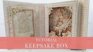 Keepsake Box Tutorial By Sandra D For Graphic 45