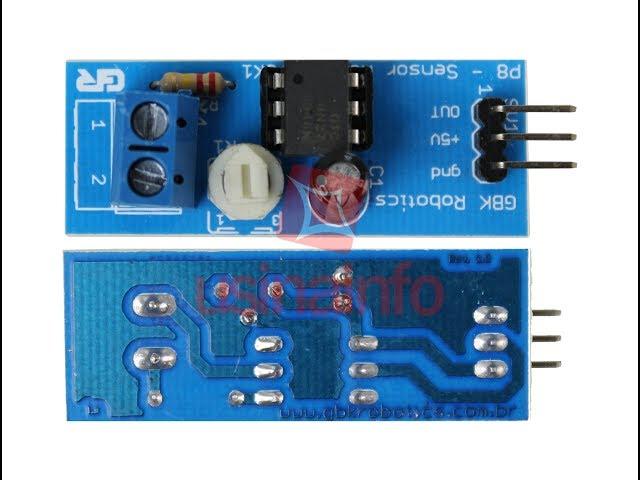 3bfc6789d6 Comprar Sensor de Tensão AC 127 220V - P8 - Usinainfo