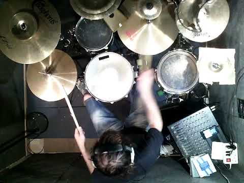 Bugge Wesseltoft ❤️ Yellow Is The Color (Part 2) Drum work 1-9-18(4)