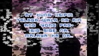 MALAYA KANA(lyrics video) BY ARMCHAIRS
