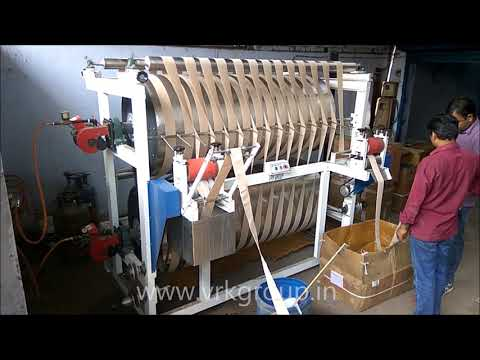 Elastic Tape Finishing Machine